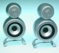100.053 MD-107 Timbre USA Surround Speakers