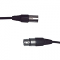 DMX-kabel, 3-pin XLR plug to 3-pin XLR socket - 6.