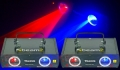 2xThemis 2 Way Red-Blue Laser DMX