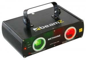 Beamz Methone 3D Laser RG 2 Way DMX 152.927