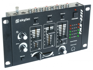 172.972 SkyTec STM-2211B Mixer 4 Channel Black