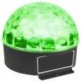 153.225 Magic Jelly DJ Ball 6x 1W LEDs