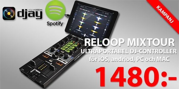 Reloop Mixtour iOS Android PC Mac Controller