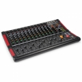 14-kanals mixer, extra hög ljudkvalitet 10Hz - 45.000Hz, mediaspelare USB, blåtand, 16 digitaleffekter, 3 LED-displayer.