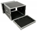 Super PRO Flightcase 8 HE extra heavy duty 15.45kg stål, aluminium, 9mm laminerad multiplex. 630 x 400 x 530mm. Innermått 450 x 365 x 460mm.
