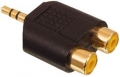 3.5mm minitele hane till 2 RCA-honor
