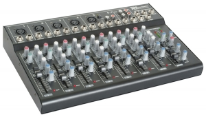 PowerDynamics PDM-L804MP3 9-kanals mixer USB Reverb 171.164