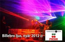 Billebro ljus, nyår 2012