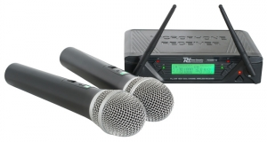 PDWM752 2x 16-Channel UHF Wireless microphones