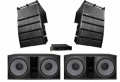 4x18 2 line array Citronic